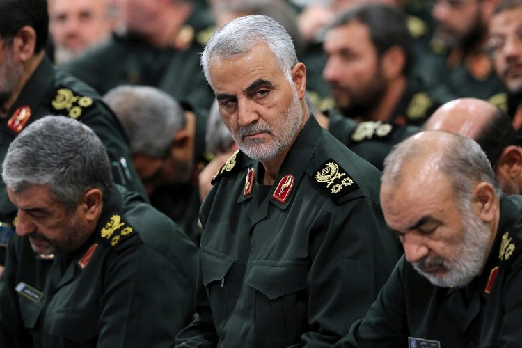 Gen. Qassem Soleimani - Office of the Iranian Supreme Leader via AP