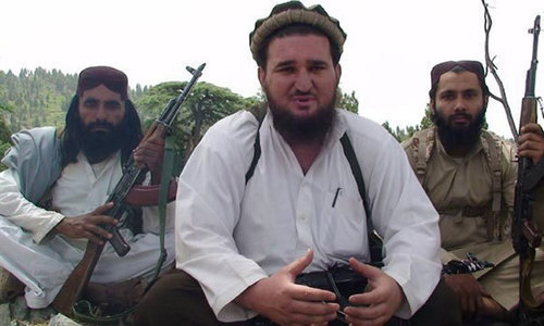 Ehsanullah Ehsan TTP spokesman courtesy Dawn News