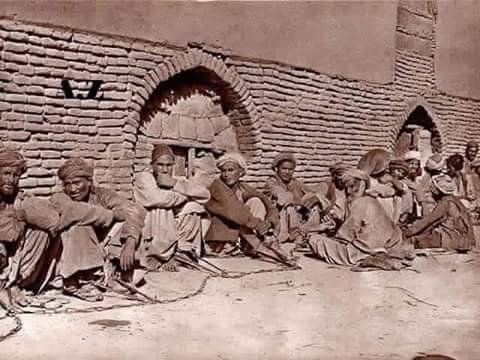 Hazara slaves during 1890s Afghanistan