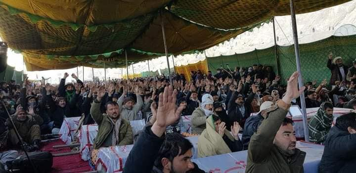 Sit-in protest after brutal massacre of Hazaras by Pakistani ISIS