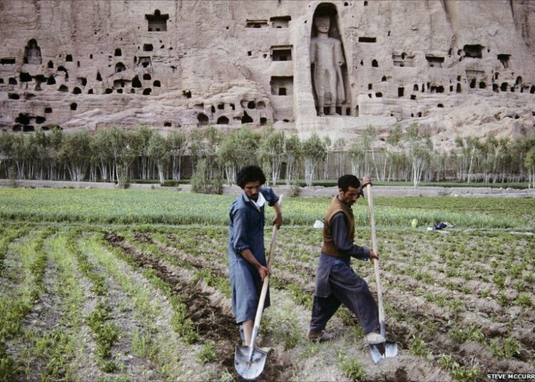 Bamyan Farmers Steve Mccurry