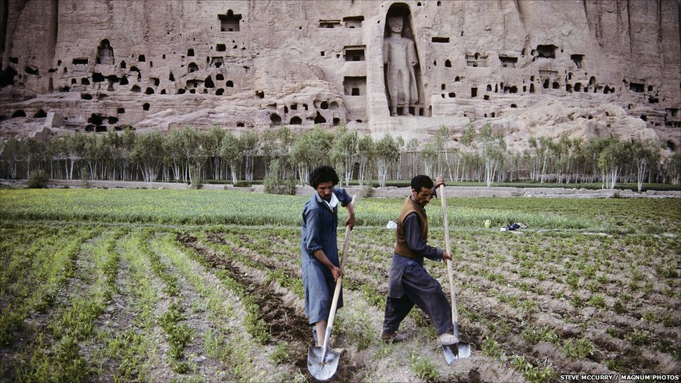 Bamyan Farmers Steve Mccurry