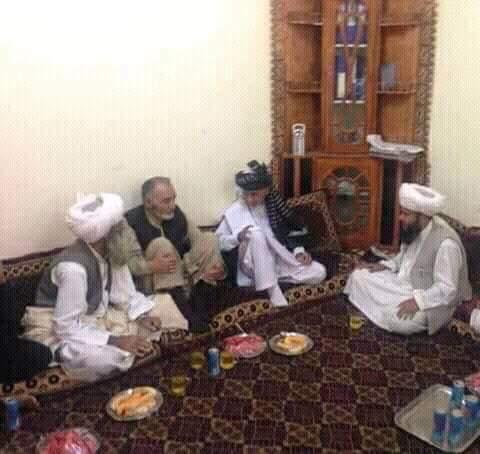 President Ashraf Ghani with Kuchi