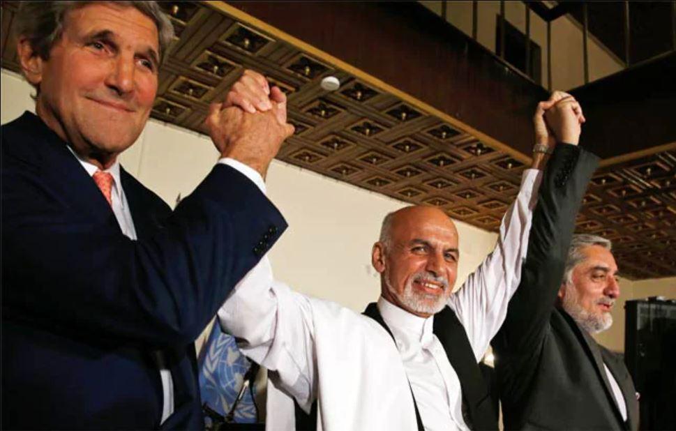 John.Kerry-Ashraf.Ghani.Ahmadi-Abdullah.Abdullah-AFP